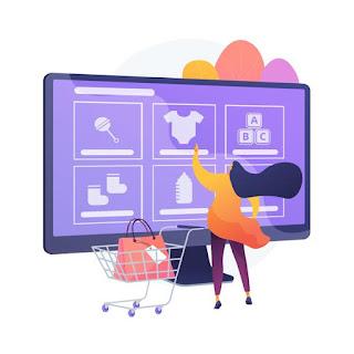 fazendo compras online png