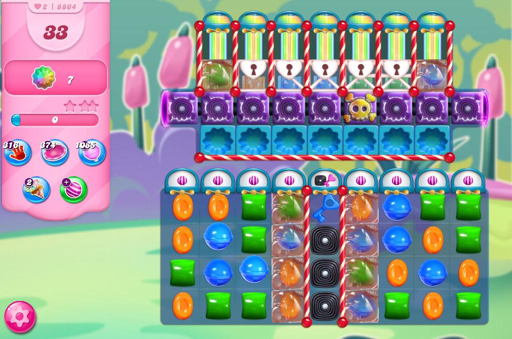 Candy Crush Saga level 8864
