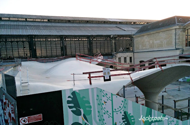 Spot skate Paris Austerlitz
