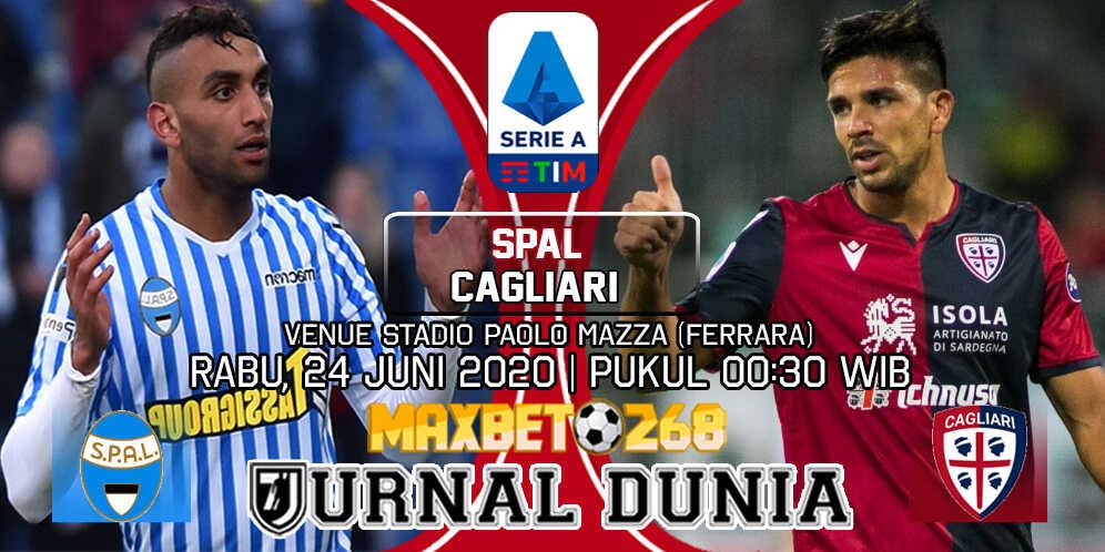 Prediksi SPAL Vs Cagliari 24 Juni 2020 Pukul 00.30 WIB