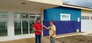 Em Picuí, Gestão Municipal espera autorização do Ministério da Saúde para abertura da UPA do Limeira