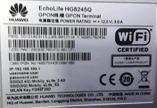 EchoLife HG8245Q