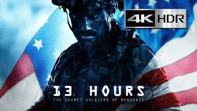 13 Horas: Los soldados secretos de Bengasi (2016) 4K UHD [HDR] 1080p Latino-Castellano