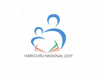 Logo Peringatan Hari Guru Nasional (HGN) 2019