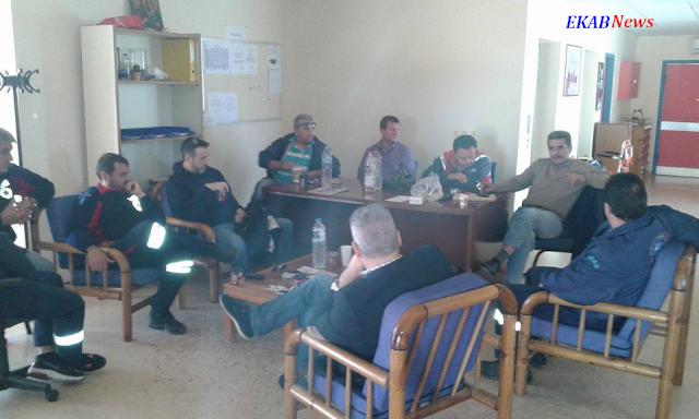 Επίσκεψη του Σωματείου Εργαζομένων ΕΚΑΒ στους Τομείς Ναυπλίου, Τρίπολης και Σπάρτης