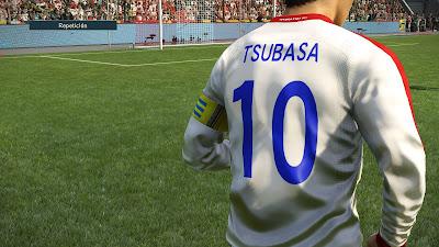 PES 2019 PS4 Captain Tsubasa Option File 2019