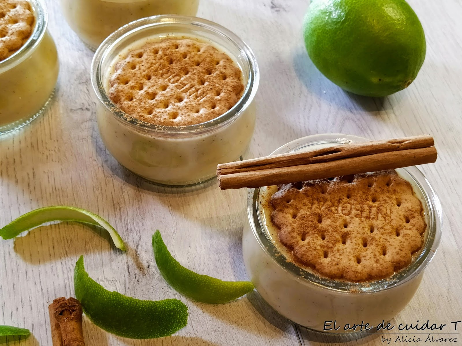 Natillas De Almendra Y Cítricos Sin Gluten Ni Lactosa El