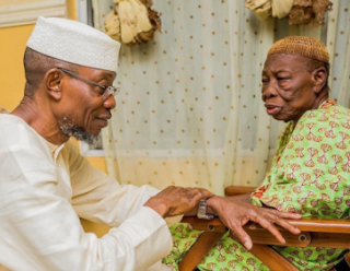 Osun State Governor, Ogbeni Rauf Aregbesola's Loses mum