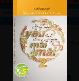 Hãy Nói Yêu Thôi, Đừng Nói Yêu Mãi Mãi (Tập 2) ebook PDF EPUB AWZ3 PRC MOBI