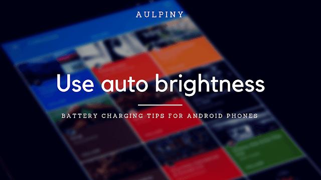 Use auto-brightness