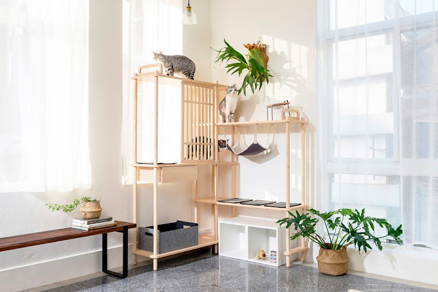 The Bien Bien Cat Tree