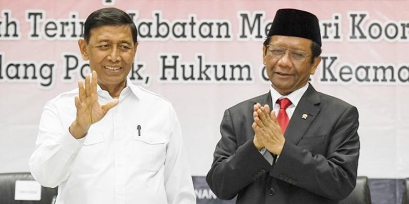 Narasi Menko Polhukam Tak Lepas Dari Peran Jokowi, Mau Mahfud Atau Wiranto Sekali Pun