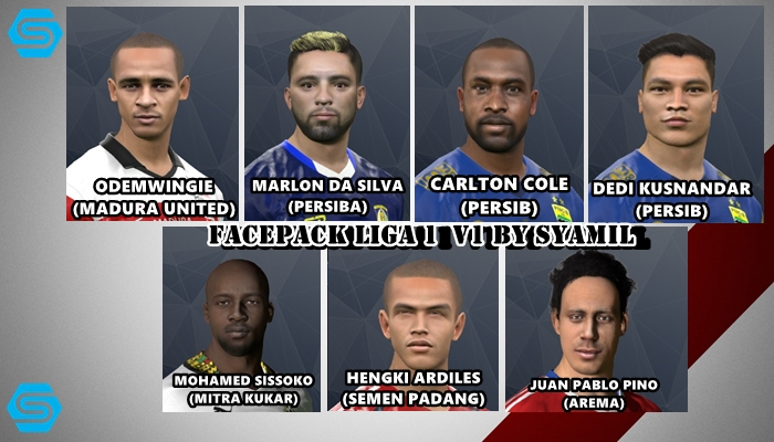 PES 2017 Facepack Liga 1 V1 by Syamil