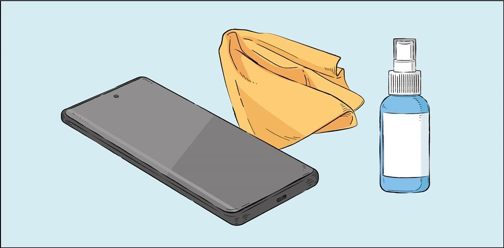 스마트폰을 안전하고 청결하게 사용하려면 어떻게 해야 할까