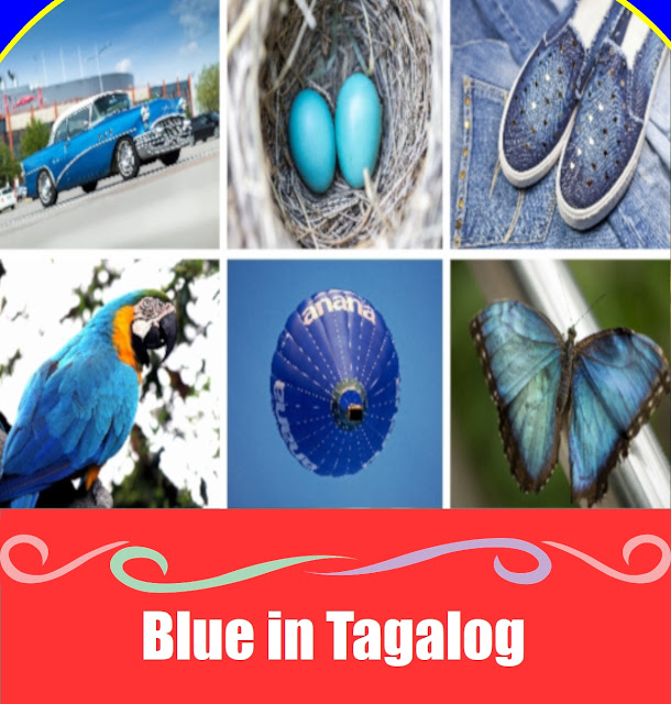 Blue in Tagalog