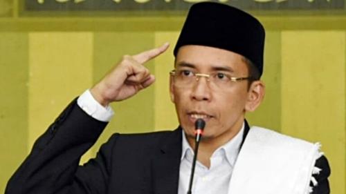 Bela Jokowi, Pendakwah TGB: Istilah Muazin Juga Dipakai Salat Id