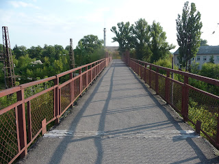 Смела. Станция им. Т. Шевченко. Пешеходный мост через железную дорогу