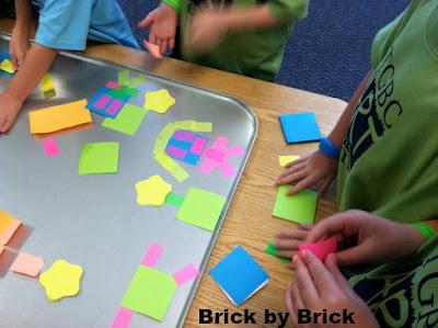 Sticky Note Collage (Brick by Brick)