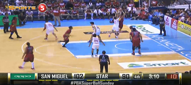 San Miguel def. Star Hotshots, 109-100 (REPLAY VIDEO) July 31
