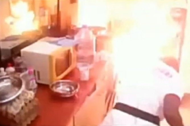 Revealed! How Fire Started Inside Big Brother Cameroon's Kitchen