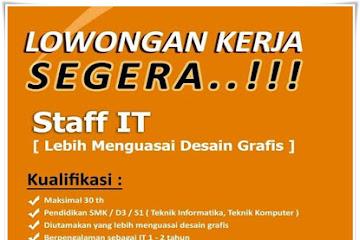 Lowongan Kerja Staff IT Istana Carwash Bandung