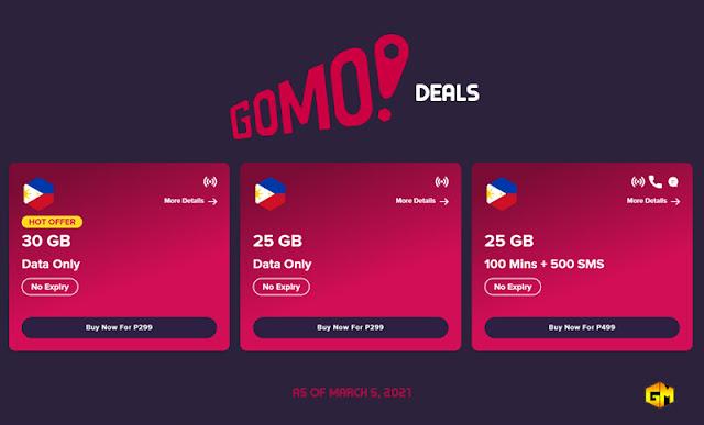Gomo Deals Gizmo Manila