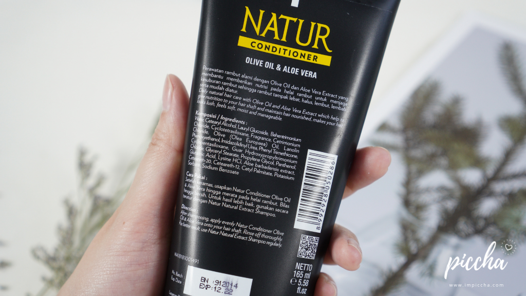 Ingredients Natur Hair Conditioner