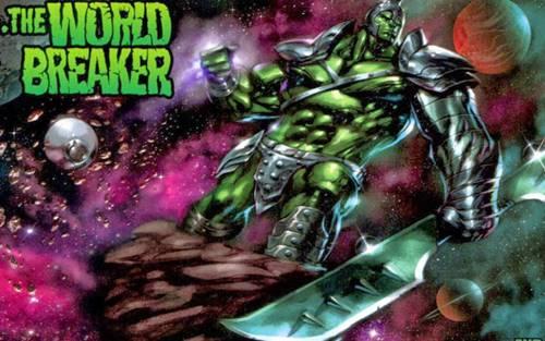 Hulk heraldo de Galactus