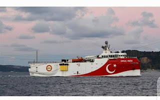 Turkey's President warns he would make no concessions in eastern Mediterranean and determines to do the necessary to obtain its rights in Black Sea
