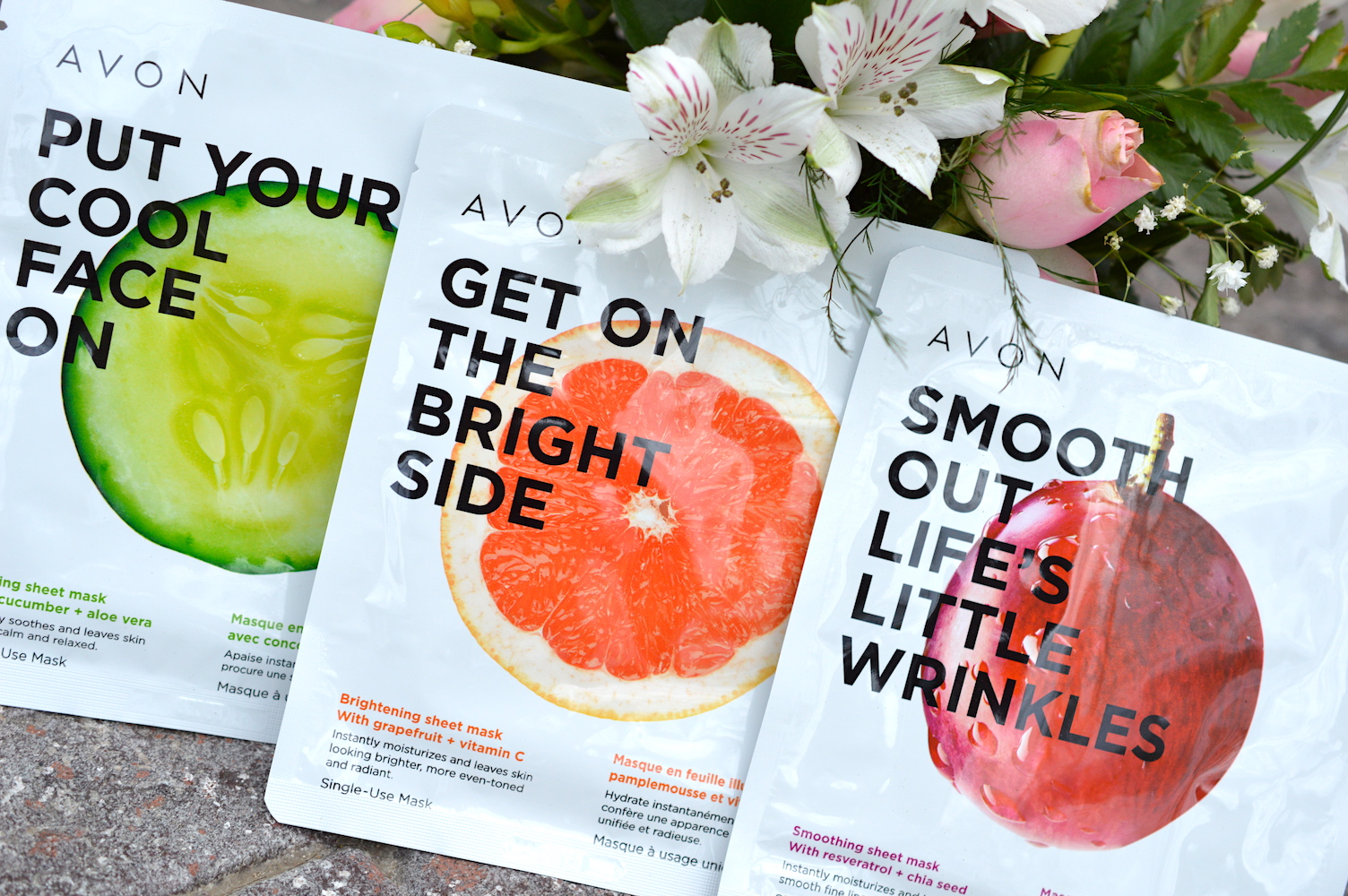Avon Get On the Bright Side Brighten Sheet Mask