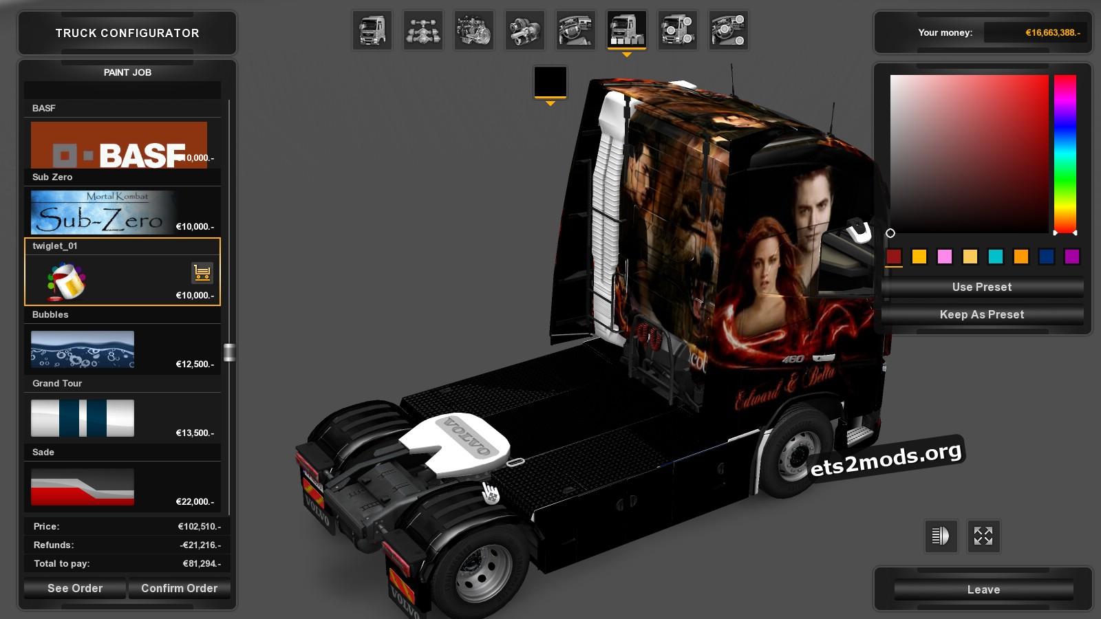 Combo Pack Edward & Bella Skins