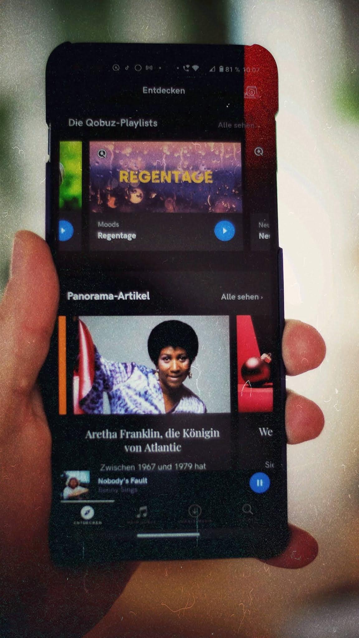 Qobuz kostenlos testen und ein gratis Hi-Res Album sichern   Audio Streaming in High Fidelity