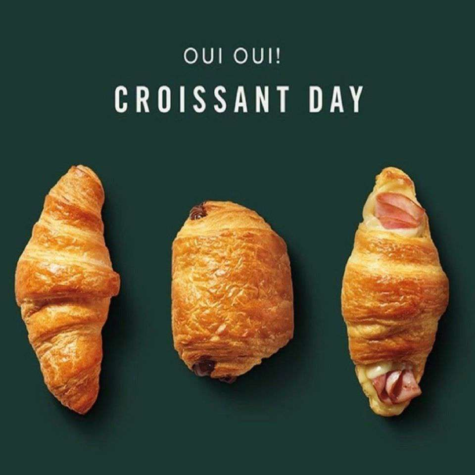 National Croissant Day Wishes Unique Image