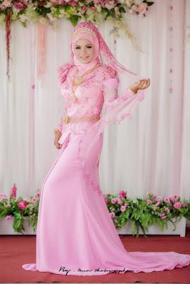 Gaun Kebaya Muslim Modern Model Terbaru