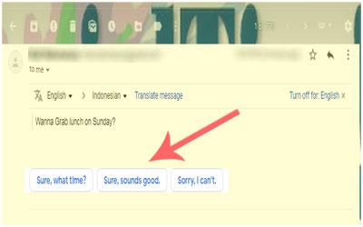 Fitur Baru Gmail Smart Reply