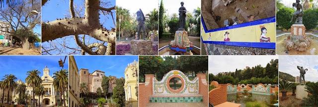 One Week in Malaga in December: Parque de Málaga
