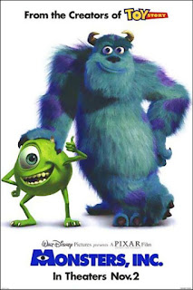 Monsters, Inc. 2001 Hindi 480p 720p  BluRay Dual Audio