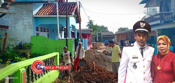 Kades Bumi Raya Gunakan DD Untuk Pemerataan Infrastruktur Setiap Dusun