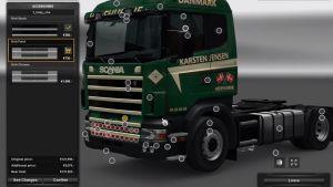 Scania 4 Series Kersten Jensen Skins