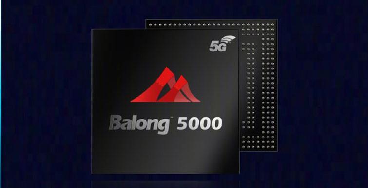 Huawei Launches 5G Multi-Mode Chipset 'Balong 5000'