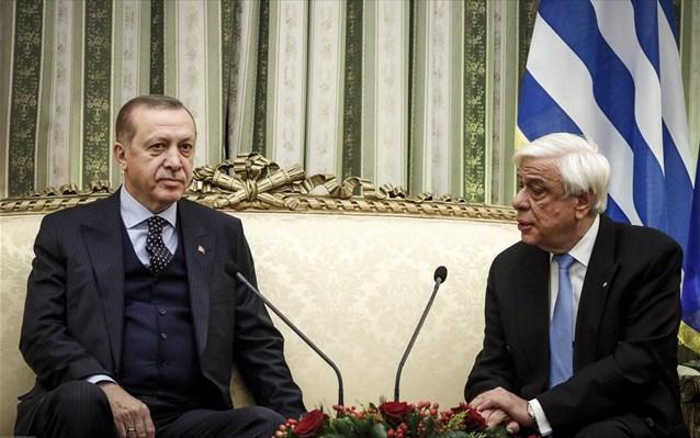Πρ. Παυλόπουλος: Μόνη διαφορά με Τουρκία η οριοθέτηση υφαλοκρηπίδας και ΑΟΖ σε Αιγαίο-Αν. Μεσόγειο
