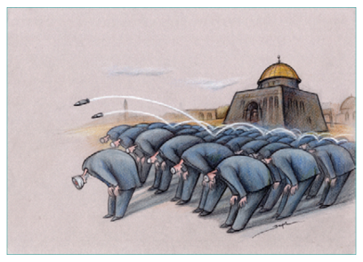 "The Winner of ""Our Heritage Jerusalem"" 1st International Cartoon Contest Turkey"