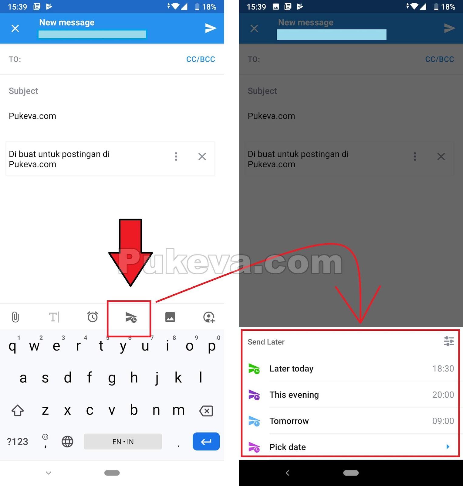 Cara Menjadwalkan Pengiriman Email Otomatis Di Iphone Dan Android Pukeva