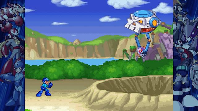 Mega Man on PlayStation 4