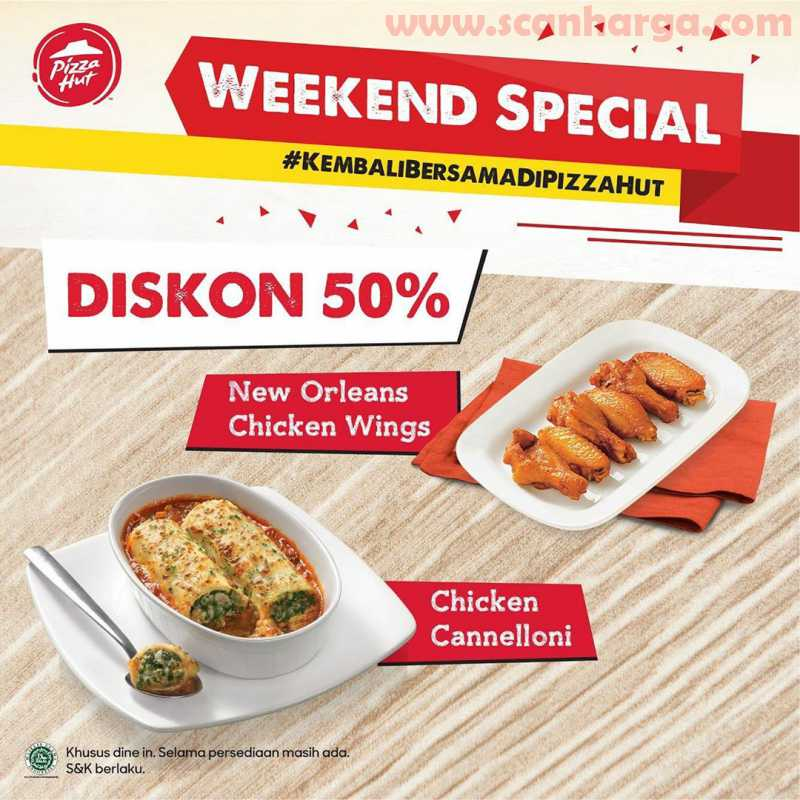 Promo Pizza HUT Weekend