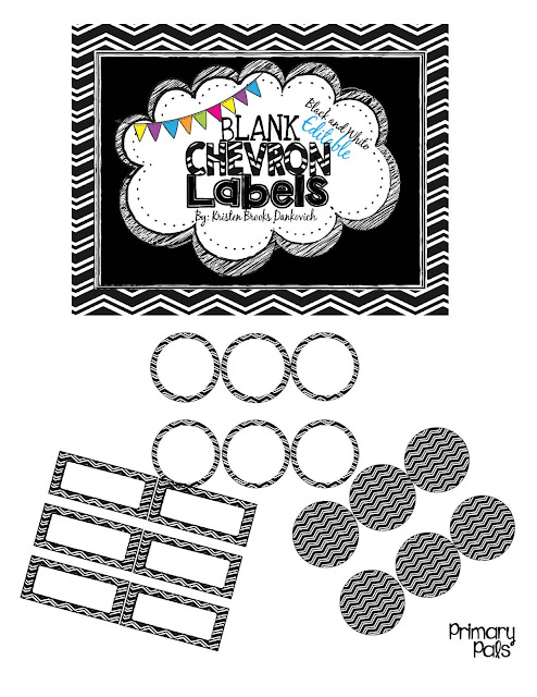 Primary Pals: Calendars and Labels: A Start to My