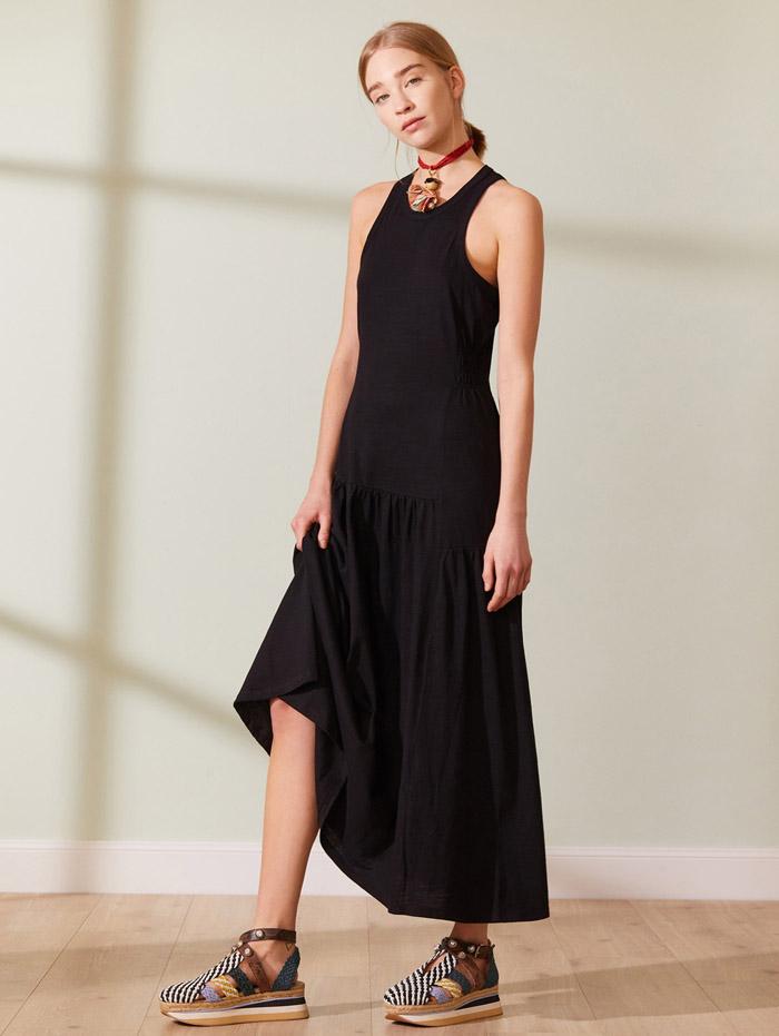 vestidos largos moda mujer verano 2021