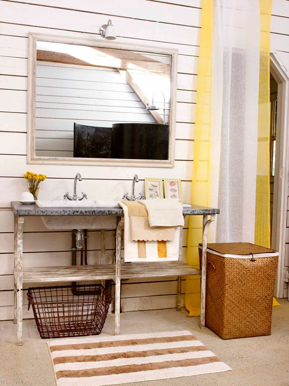 yellow touch decor
