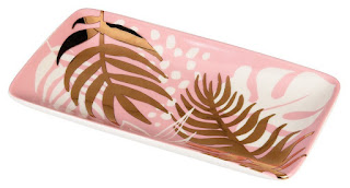 Things I Learnt In February : Rex London Tropical Palm Trinket Tray