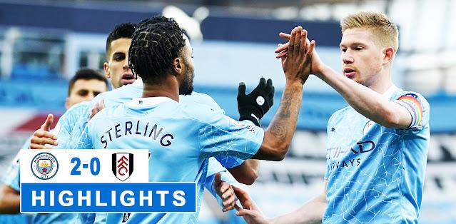 Manchester City vs Fulham Highlights